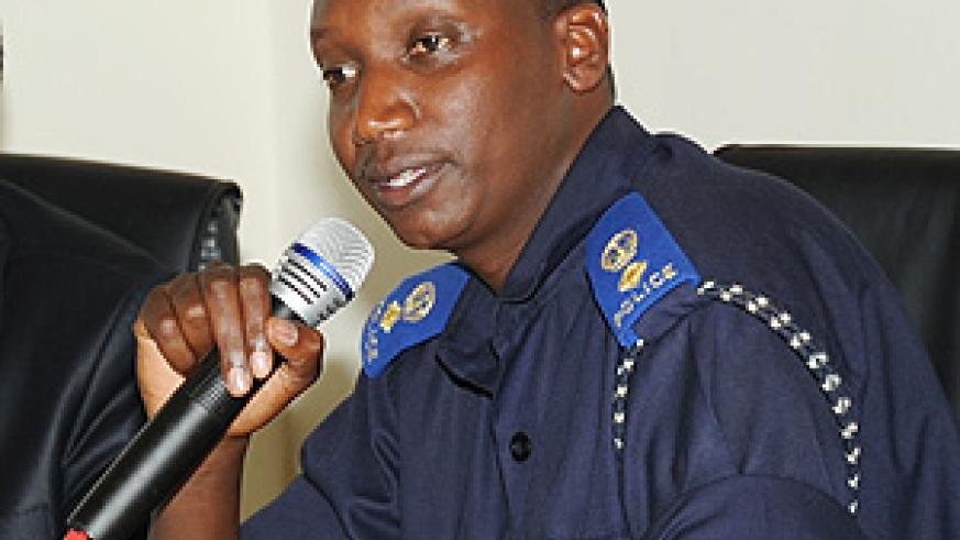 Out-going Police Spokesperson Eric Kayiranga will be replaced by Supt Theos Badege