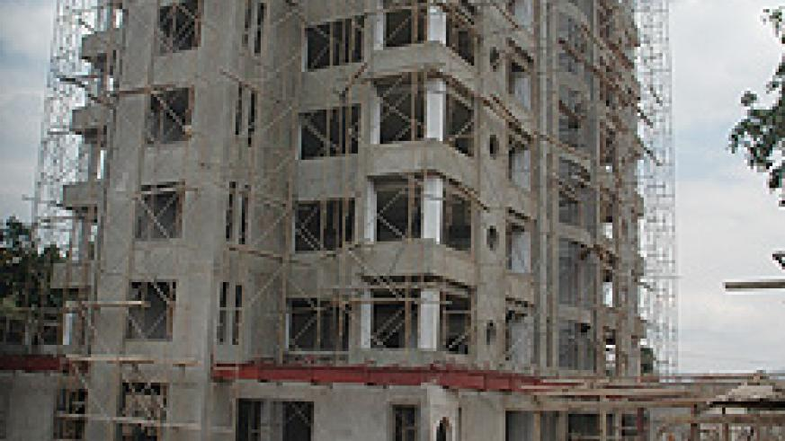The boom in construction sector is expected to boost growth in Rwanda's insurance market. (File photo)