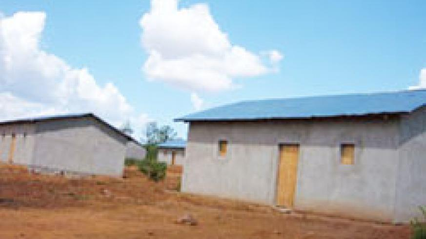The Country's target is to have all Rwandans live in decent housing.(File Photo)