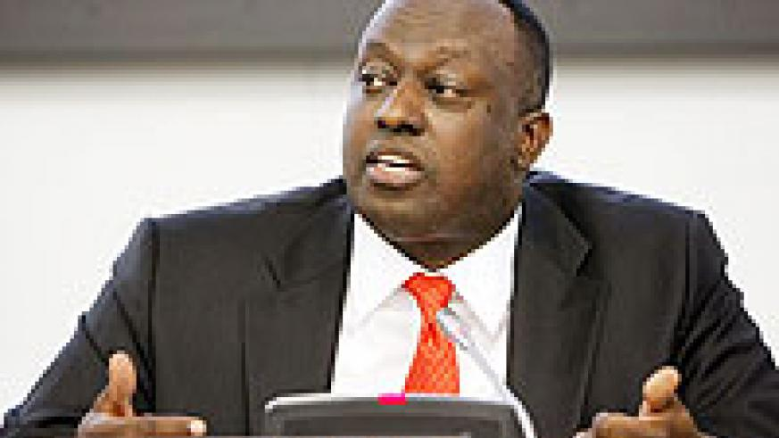 Rwanda's Permanent Representative to the UN, Eugène-Richard Gasana UN Photo)