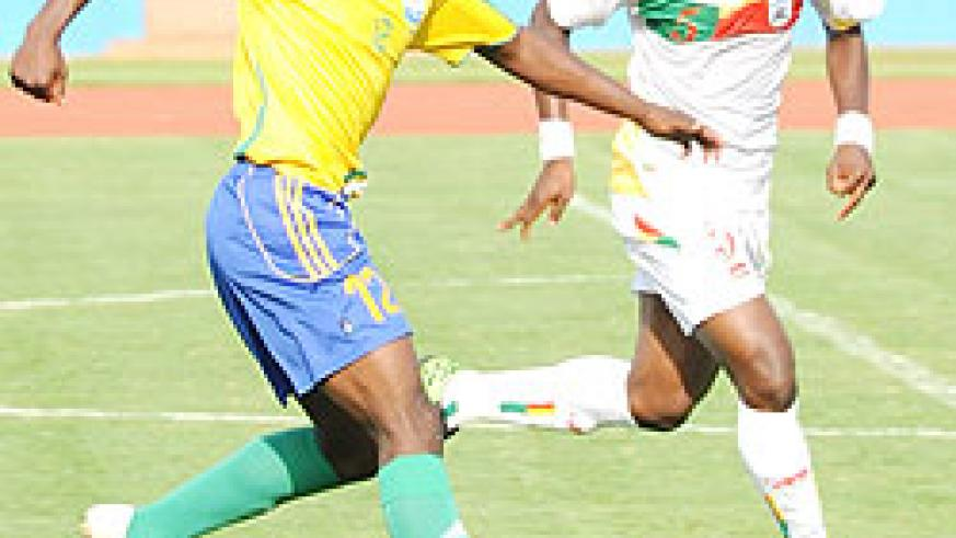 Kipson Atuhaire, who is likely to miss the CHAN tournament in Sudan, made his international debut against Benin last October. (File photo)