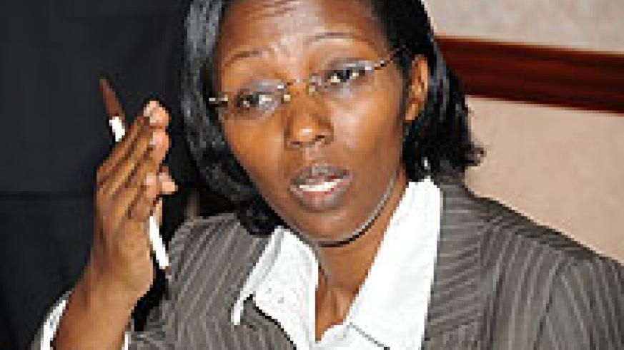 Minister of state for Energy and Water, Coletha Ruhamya