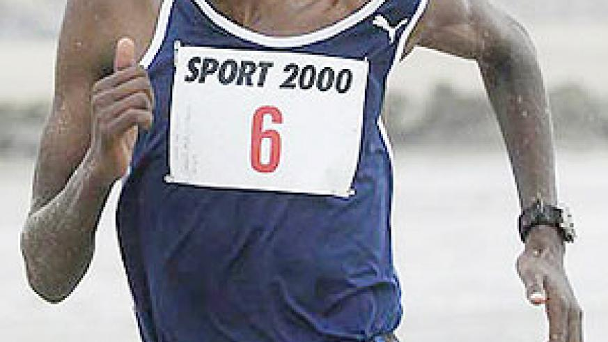 Steeple chase specialist Gervais Nizeyimana is one of the contenders