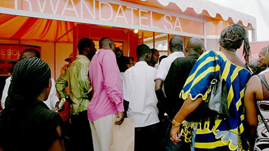 One of Rwandatel's outlets in Kigali. The company faces heavy punishments if it fails to comply with RURA's instructions (File photo)