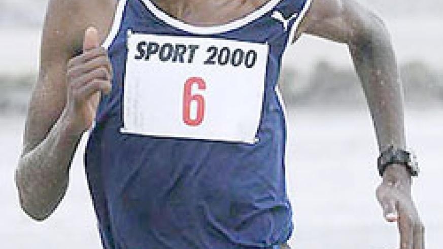 Steeple chase specialist Gervais Nizeyimana didnot take part. (File Photo)