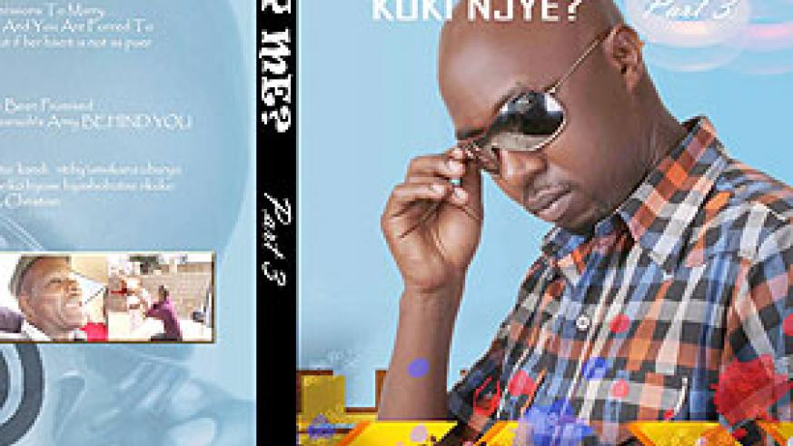 Bisengimana on the cover of his Why Me?'s final episode.(Courtesy photo)