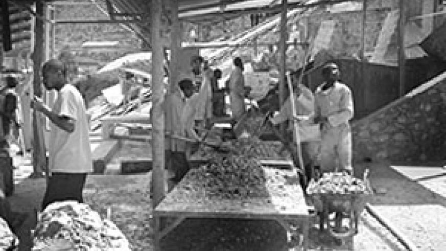 Gatumba mining factory (File photo)