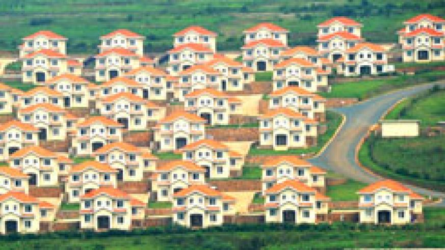 One of the housing estates in Kigali. Construction is one the big drivers of economic growth in Rwanda (File photo)