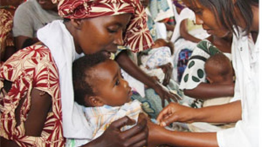 Health insurance is at 96% of total population up from 7% in 2003, 77% of those in need of anti retroviral therapy access it, up from 35% in 2005,  malaria related deaths are 16% down from 40.6% in 2000 (File Photo)