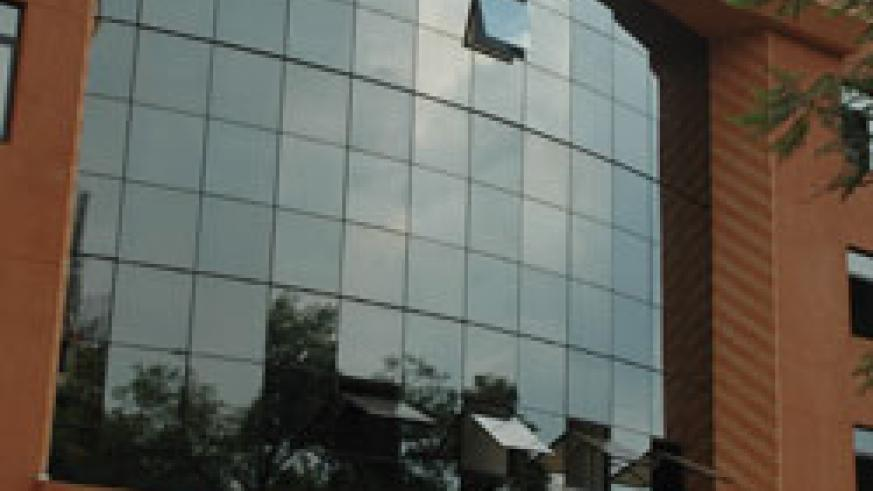 COGEBANQUE head office in Kigali. (File photo)