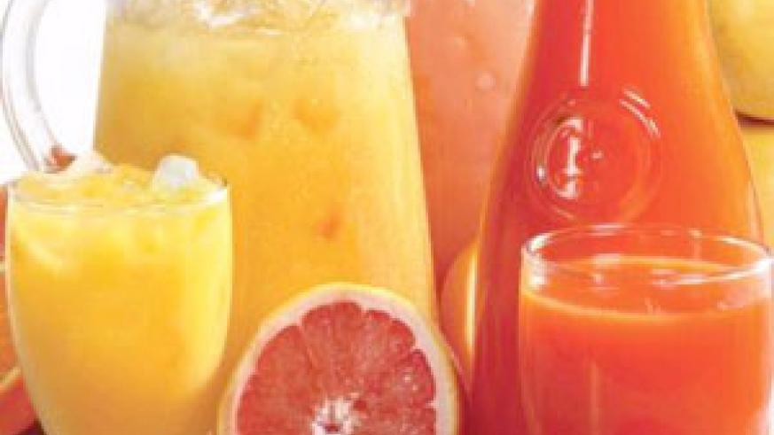Fruits are healthy body cleansers.  Eating lots of fruit and drinking plenty of juice detoxicates your body.