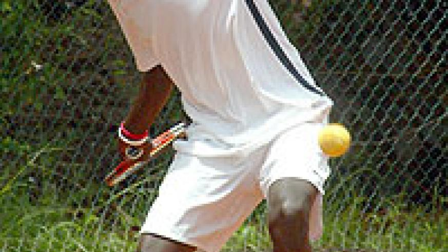 Rwanda's top seed Dieudonne Habiyambere will be hoping for better luck this year. (File Photo)