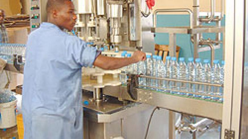 Inyange Industries. The company has fired independent distributors. (File photo)