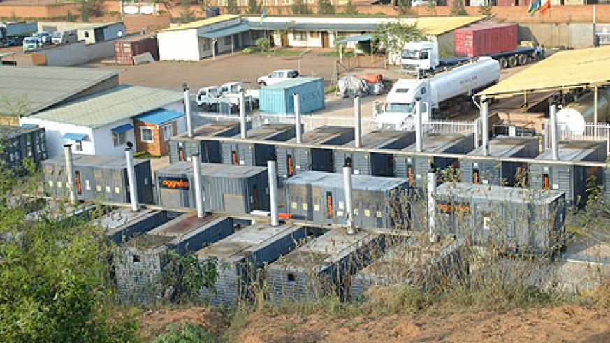 Fuel powered generators in Gikondo industrial park will be phased out in 2013 (File Photo)