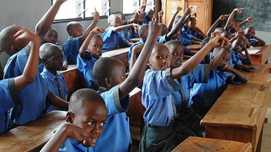 School feeding initiatives like One Pint of Milk per Child have registered quick success (File Photo)