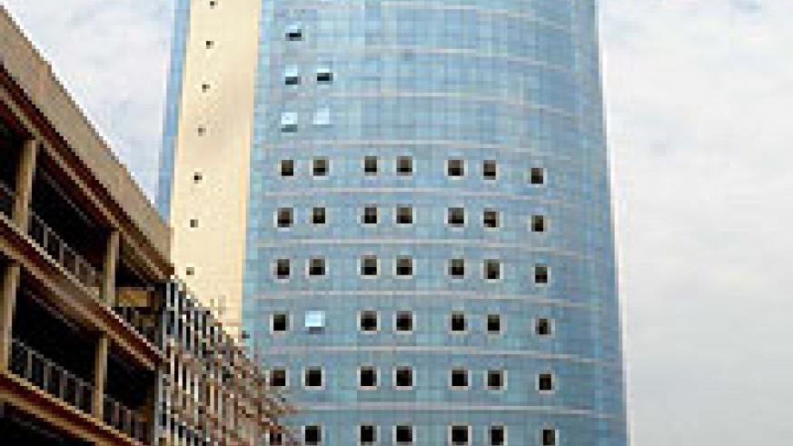 Kigali City Tower. Such buildings will ensure that businesses shift their operations from residential buildings. (File Photo)