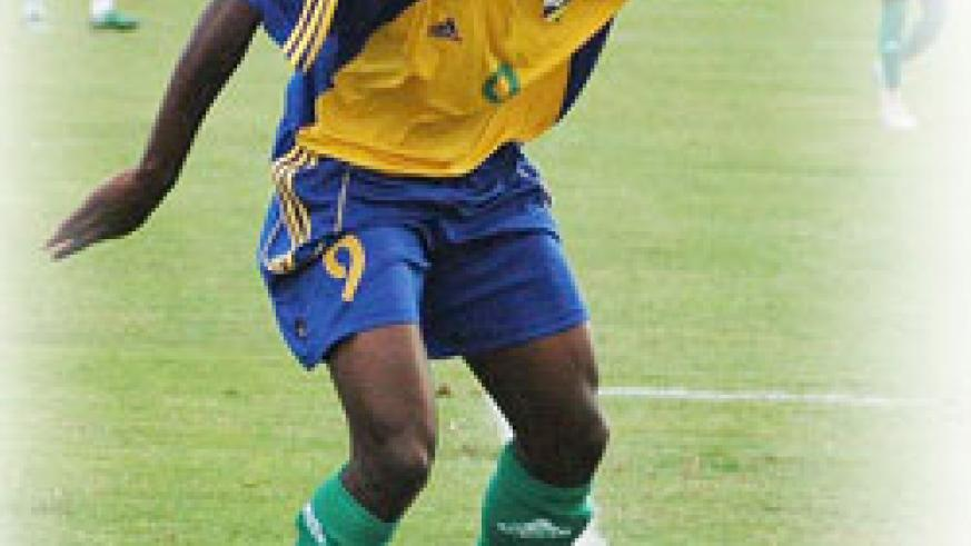 Elias Uzamukunda a.k.a Baby joined camp yesterday. He gives Sellas Tetteh more options upfront. (File Photo)