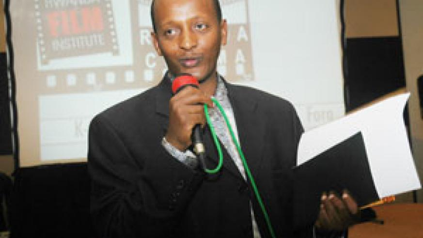 Founder and CEO of Rwanda Cinema Centre, Eric Kabera. (File photo).