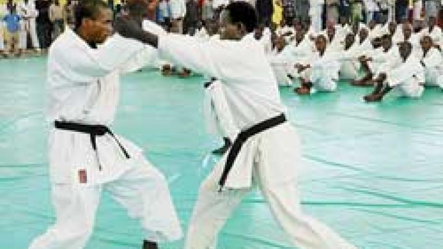 Karate is a sport of mutual respect.