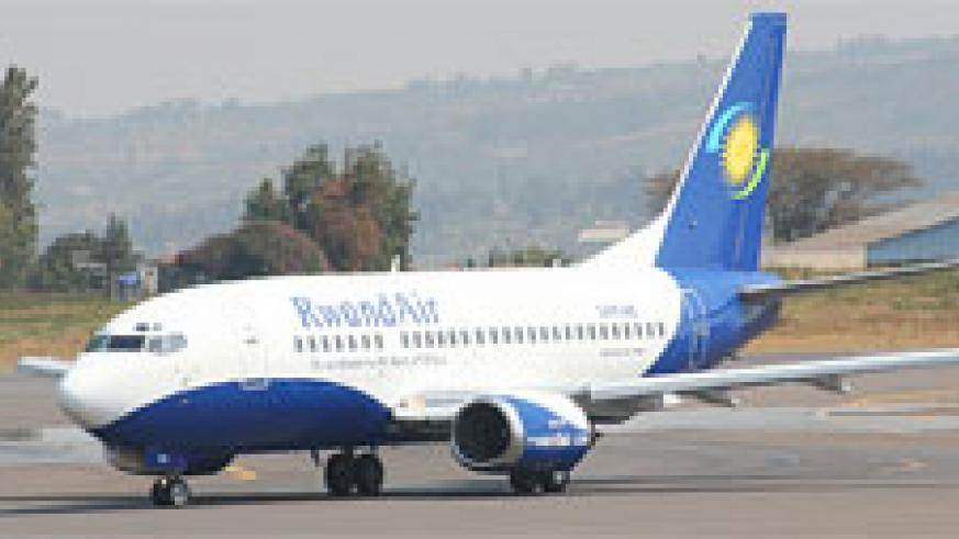 RwandAir's Boeing 737-500 (Courtsey Photo)