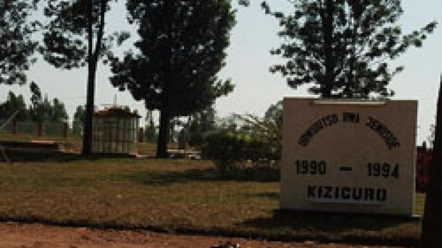 Kiziguro genocide memorial site where thousands of Tutsi were killed under the command of Jean Baptiste Gatete.(Photo D Ngabonziza)