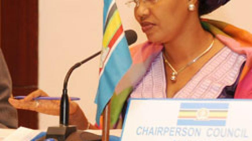 Chair of EAC Ministers' Counci, Hafsa Mossi