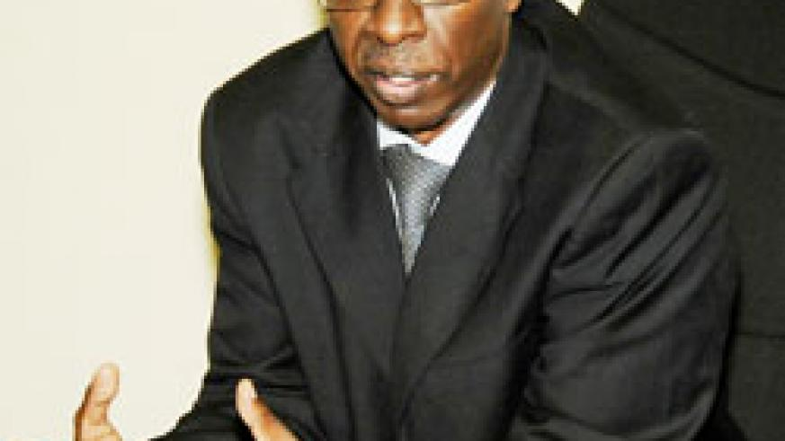 Rogers Munyampenda, CEO of PSF (File Photo)