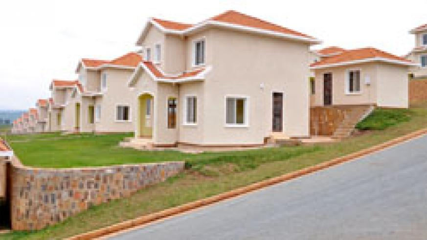 The takeover of Housing Bank by BRD will see modern houses like these come up (File Photo).