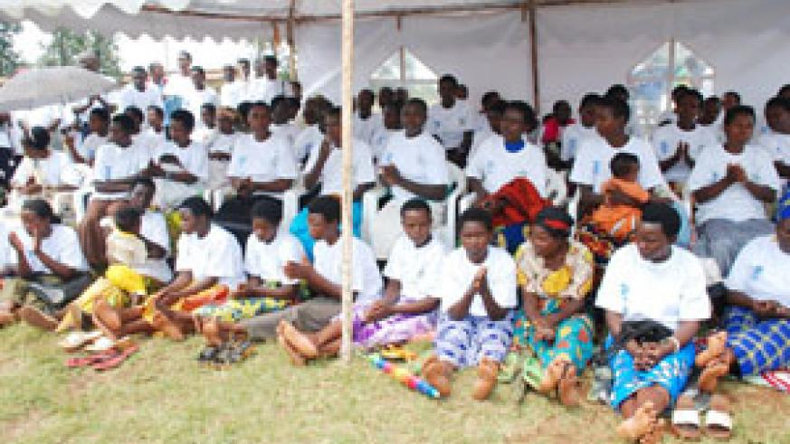 L-R: Some women beneficiaries who graduated from PAJER