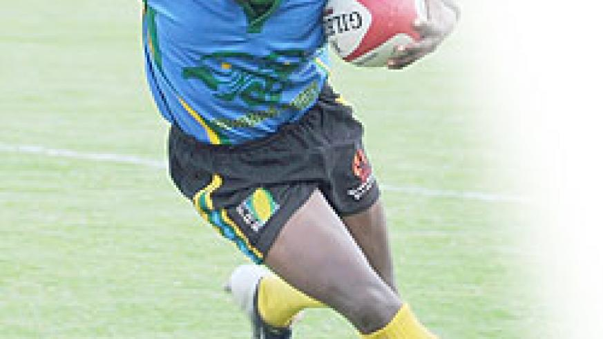 Silverbacks captain Vincent Kamali during last year's CAR 15s. (File Photo)