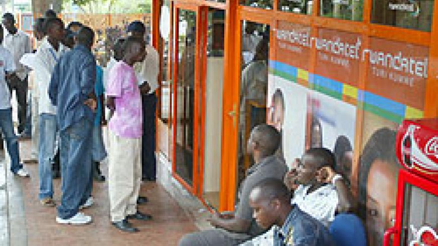 One of Rwandatel's service centres. RURA will decide its fate this week. (File Photo)
