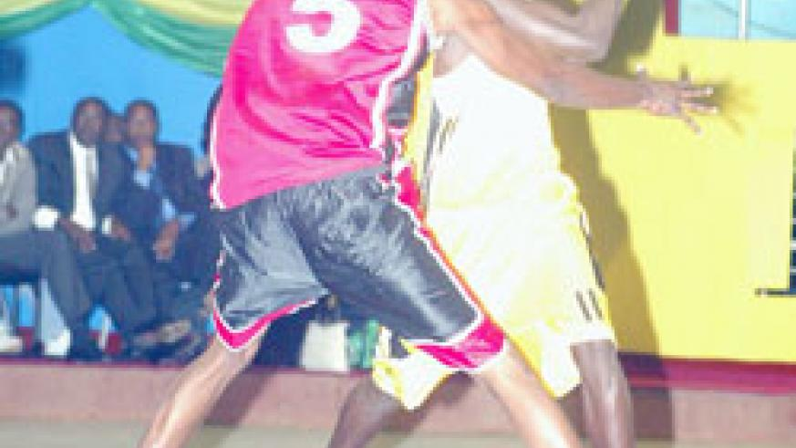 Fiston Muhire (R) has pivotal in KBC's run to the title. (File Photo)