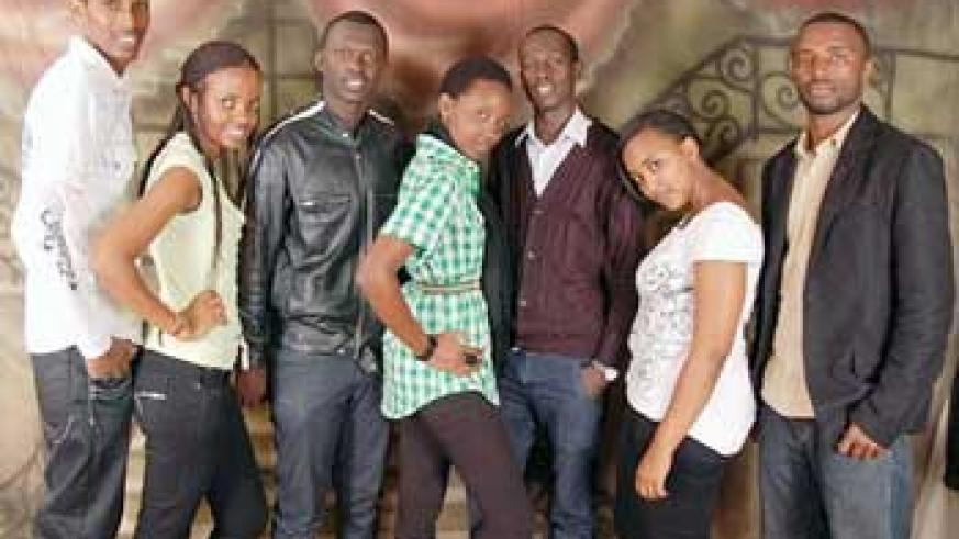 """The acting crew of the forthcoming movie """"The Power of Gospel. (courtesy photo)"""