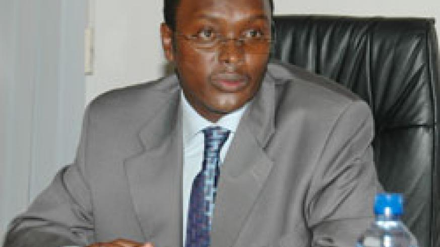 Emmanuel Hategeka, the PS in the Ministry of Trade and Indutry (File photo)