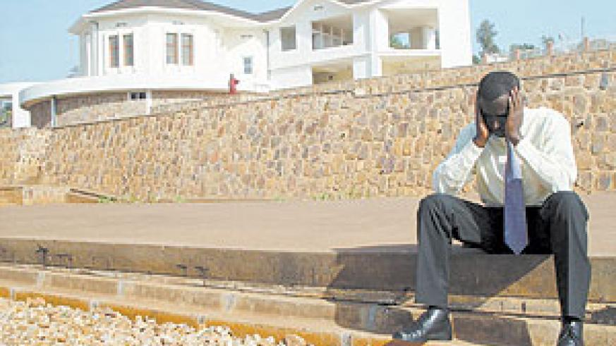 A survivor of the 1994 Genocide against the Tutsi at Kigali Memorial Centre. (File Photo)