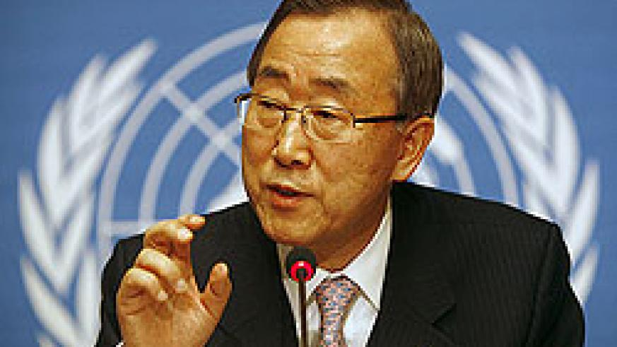 UN Secretary General Ban Ki Moon also paid tribute to Genocide victims (Net Photo)