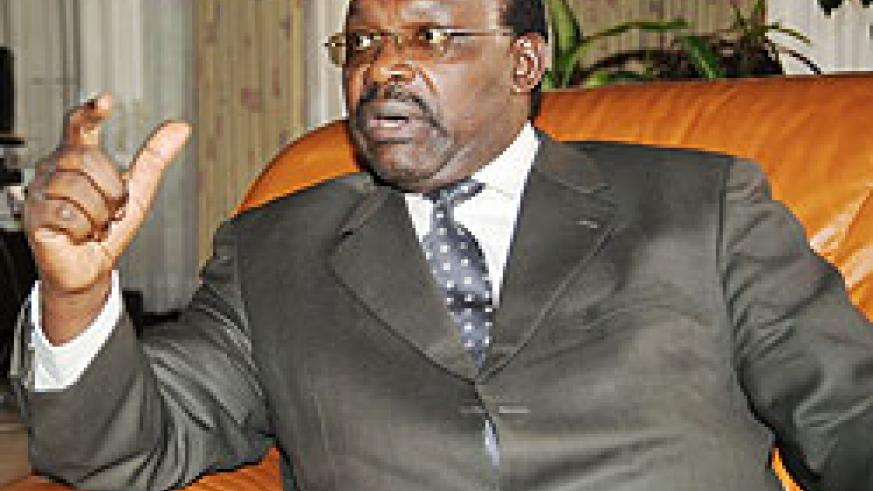 Central bank Governor, Francois Kanimba rules licensing Blue Financial Services for the second time (File photo)