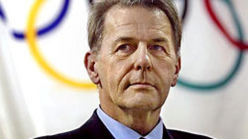 MAIDEN VISIT ON CARDS; IOC president Jacques-Rogge