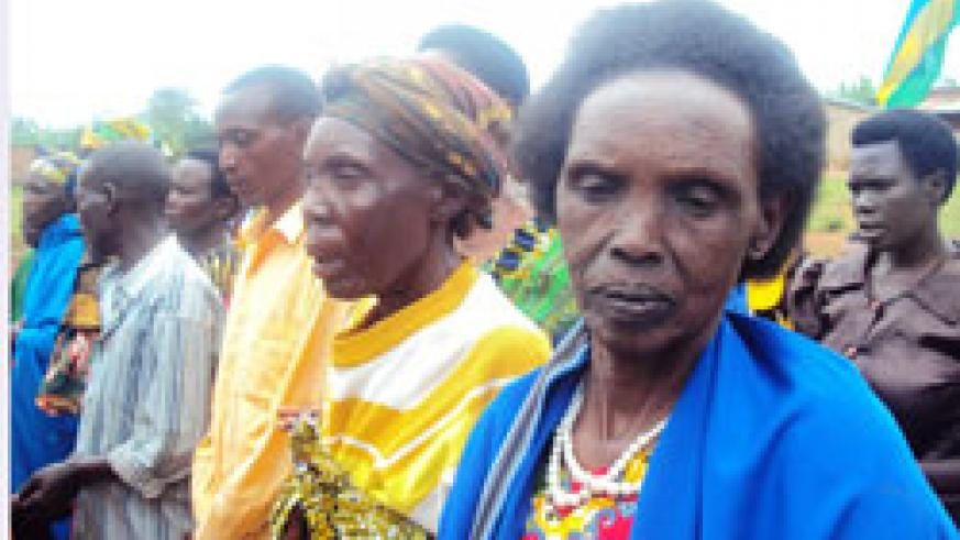 Some of the ageing AVEGA members. (Photo by S. Rwembeho.)