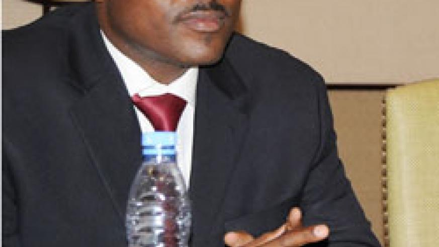 The EAC Deputy Secretary General Alloys Mutabingwa who is expected to relinquish his position;  (File photo)