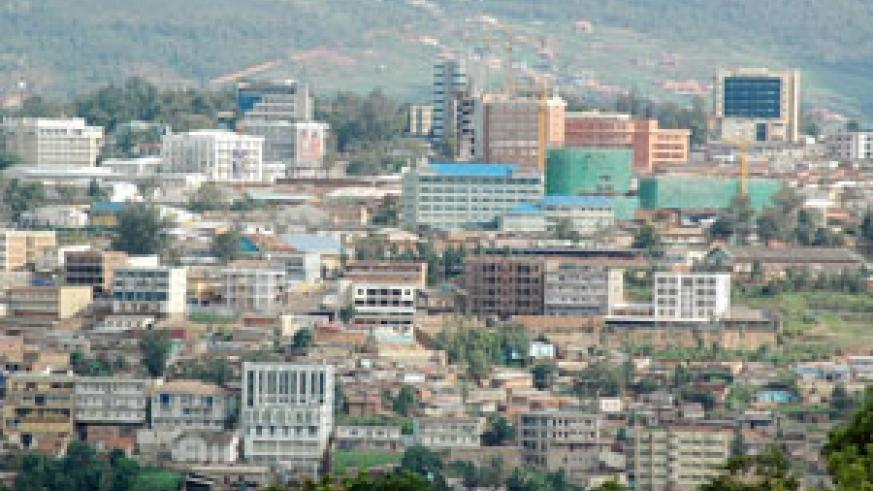 Part of Kigali City. Rwanda's developement pace over the past 17 years has left many in awe. (File Photo)