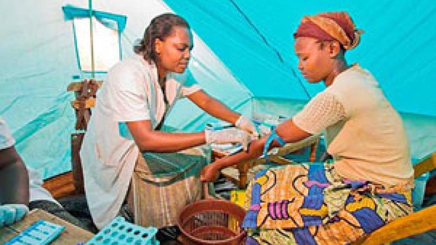 Rwanda tops African countries with 18.8 percent of its national Budget allocated to health. (Net Photo)