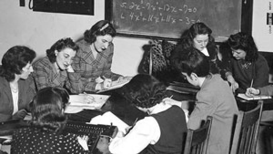 In 1942, the US military recruited women to work as  'computers'. They were called the, 'Top Secret Rosies.' (Net Photo)