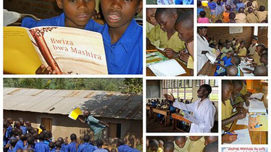 Children in Rwanda are eager to read. (Courtesy Photo)