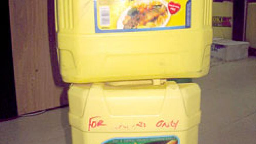 Containers of some of the cooking oil brands that were initially  banned by RBS