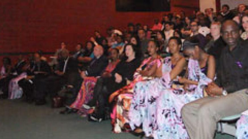 Rwandan students and friends honour Genocide victims in the Netherlands (Courtsey Photo).