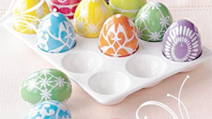 Some countries decorate colourful Easter Eggs to celebrate the season.