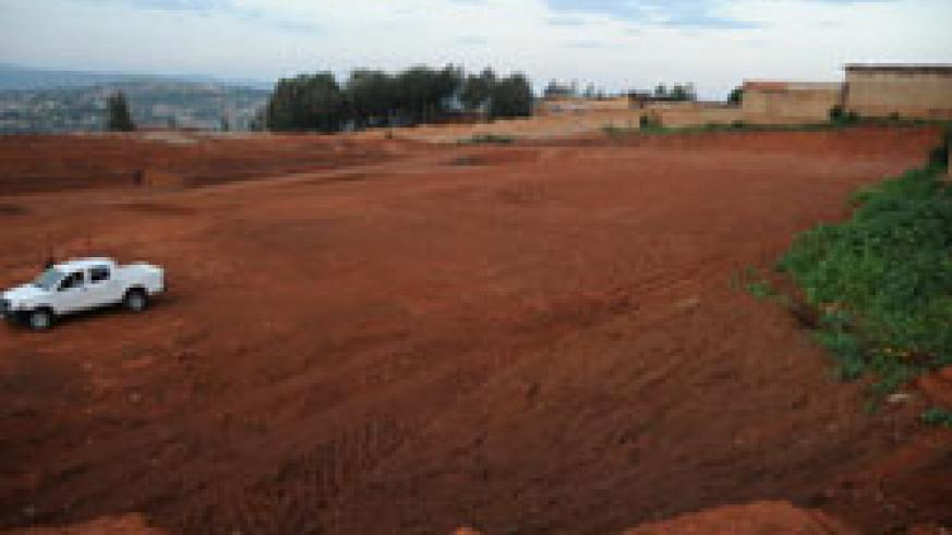 The site where the bus terminal will be constructed (File Photo).
