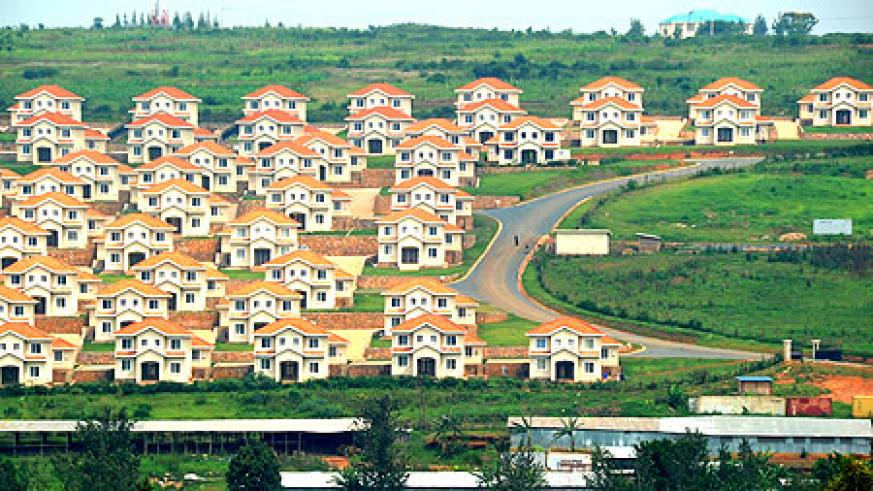 One of the mushrooming new estates in Kigali City. DN International has returned to the industry after months of inactivity (File Photo)