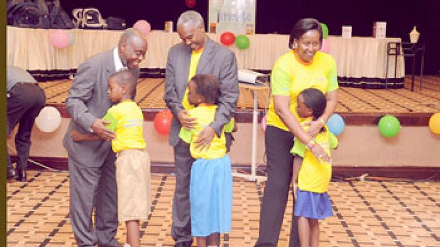 Leaders were pleased by the performance of the children.